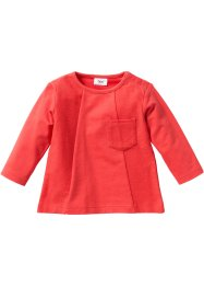 Baby Sweatshirt Bio-Baumwolle, bpc bonprix collection, hummer
