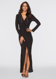 Langarmkleid, BODYFLIRT boutique, schwarz
