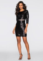 Paillettenkleid, BODYFLIRT boutique, black