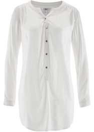 Leichte Flanell-Bluse, bpc bonprix collection, wollweiss