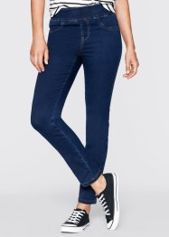 Superstretch-Schlupfjeans in schmaler Form, bpc bonprix collection, dark denim