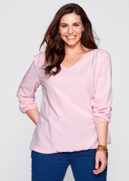 Bluse, Langarm, bpc bonprix collection, puderrosa