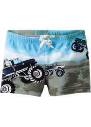 Badehose Jungen, bpc bonprix collection, blau