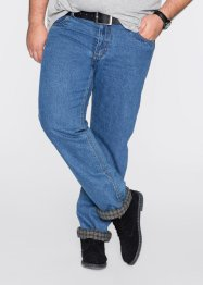 Thermo-Jeans Classic Fit Straight, bpc bonprix collection, blau