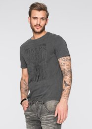 T-Shirt Slim Fit, RAINBOW, grau