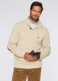 Pullover Regular Fit, bpc selection, natur meliert