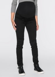 Umstands-Jeansleggings, bpc bonprix collection, black denim