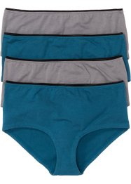 Maxipanty (4er-Pack), bpc selection, bedruckt