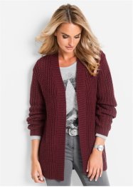 Strickjacke, bpc selection, ahornrot