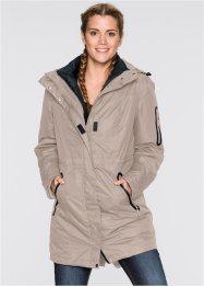 3 in 1 Funktions-Outdoorjacke, bpc bonprix collection, taupe