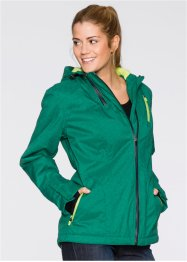 Outdoorjacke, bpc bonprix collection, minzegrün meliert