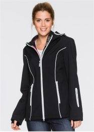 Softshelljacke, bpc bonprix collection, schwarz
