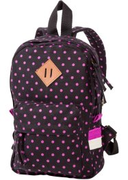 Kinderrucksack, bpc bonprix collection, schwarz/pink