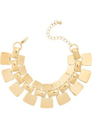 Statement Armband, bpc bonprix collection, goldfarben
