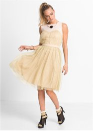 "Corsagen Kleid ""Marcell von Berlin for bonprix"", Marcell von Berlin for bonprix, gold"