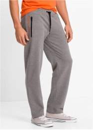 Jogginghose im Regular Fit, bpc bonprix collection, grau meliert