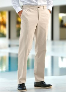 Stretch-Chino im Regular Fit Straight, bpc selection, beige