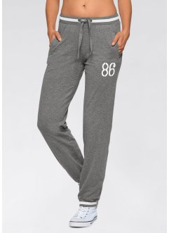 Stretch-Sporthose, bpc bonprix collection, grau meliert