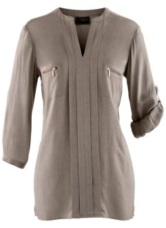 Bluse, bpc selection, taupe