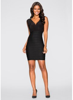 Figurformendes Kleid, BODYFLIRT boutique, schwarz