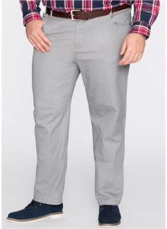 Stretch-Hose Classic Fit Straight, bpc bonprix collection, grau