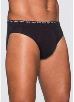 Komfortslip (5er-Pack), bpc bonprix collection, schwarz/weiss
