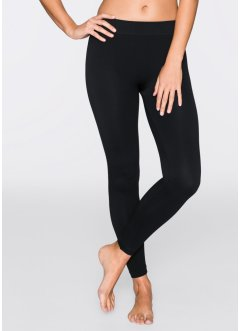 Lange Seamless Leggings, bpc bonprix collection, schwarz