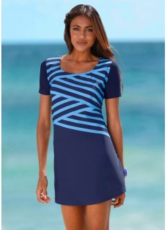 Strandkleid aus Badequalität, bpc bonprix collection, blau