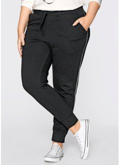 Sweatpants - designt von Maite Kelly, bpc bonprix collection, schwarz/silber