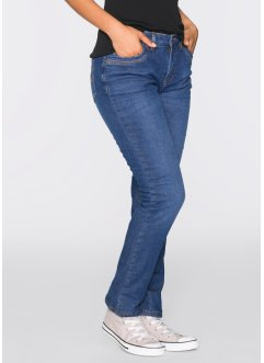 Thermo-Stretch-Jeans, STRAIGHT, John Baner JEANSWEAR, blau