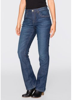 Thermo-Stretch-Jeans, BOOTCUT, John Baner JEANSWEAR, dunkelblau