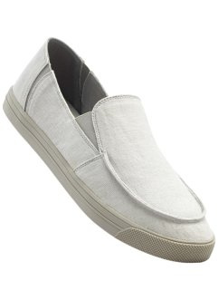 Slipper, bpc bonprix collection, hellgrau