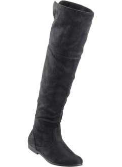Overkneestiefel, bpc bonprix collection, schwarz