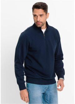 Herren Sweatshirt, Regular Fit, bpc bonprix collection, dunkelblau