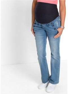 Umstandsjeans, Bootcut, bpc bonprix collection, medium blue bleached