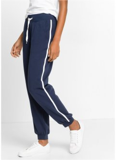 Stretch-Jogginghose, bpc bonprix collection, dunkelblau