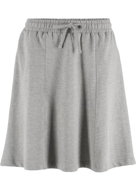Jupe en sweat gris clair chiné - bpc bonprix collection - fr.bonprix.ch a96b427f94a4