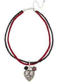 Kette Oktoberfest, bpc bonprix collection, rot/schwarz