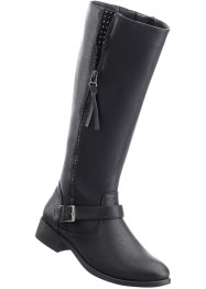 Langschaftstiefel, bpc bonprix collection, schwarz
