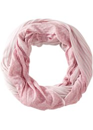 Loop, bpc bonprix collection, rosa/weiss