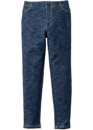 Leggings in Denimoptik, bpc bonprix collection, dunkelblau meliert