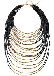 Collier, bpc bonprix collection, schwarz/goldfarben