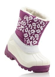 Winterstiefel, bpc bonprix collection, weiss/pink