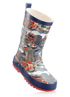 Gummistiefel, bpc bonprix collection, blau/rot