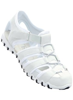 Sandales de sport, bpc bonprix collection, blanc