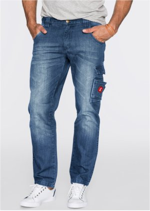 Jeans Dirty Used Regular Fit, John Baner JEANSWEAR