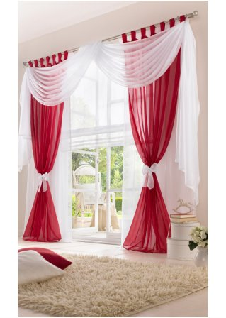 gardinen vorh nge gardinen und rollos heimtextilien wohnen. Black Bedroom Furniture Sets. Home Design Ideas