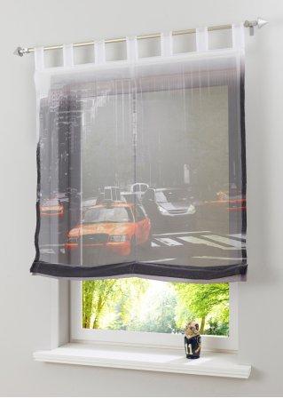 raffrollo manhattan klettschiene manhattan bpc living. Black Bedroom Furniture Sets. Home Design Ideas