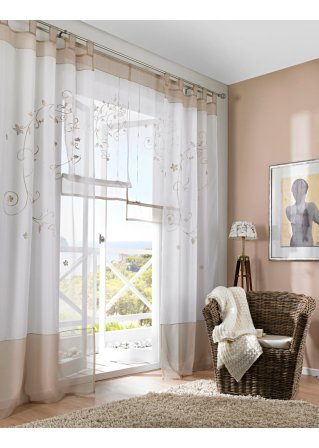 raffrollo modern wohnlich und g nstig bei bonprix bestellen. Black Bedroom Furniture Sets. Home Design Ideas