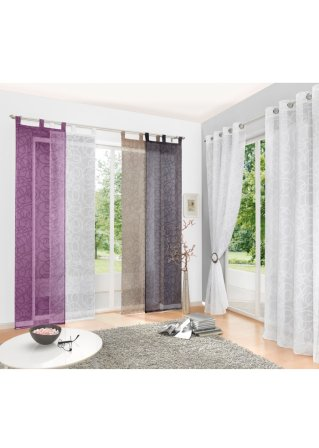 rideaux et voilages en format classique sur. Black Bedroom Furniture Sets. Home Design Ideas